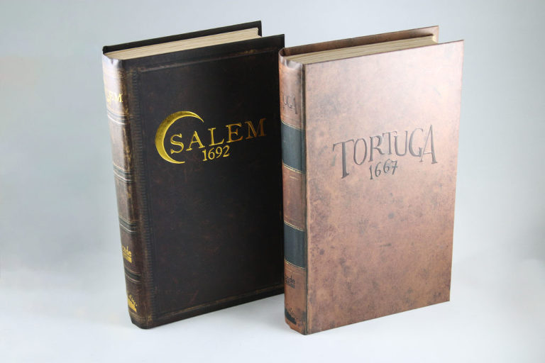 Facade Games, Salem 1692, Tortuga 1667, Board Games, Product Photography