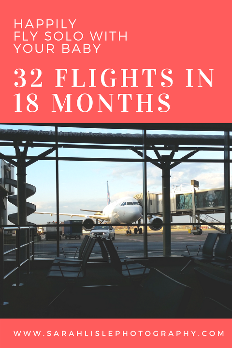 I flew on 32 flights in my daughter's first 18 months of life. Here are all my travel tips and tricks.